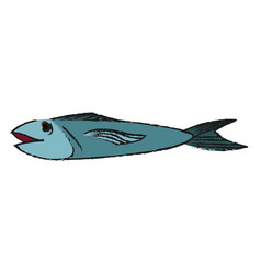 Food fish icon image vector