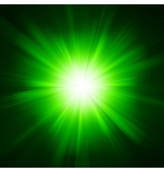 Green color design with a burst EPS 10 vector image