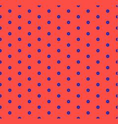 minimalist geometric seamless pattern small hex vector image