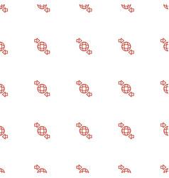 Qround globe icon pattern seamless white vector