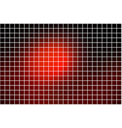Red brown black square mosaic background over vector