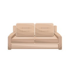 sofa furniture comfort image vector image