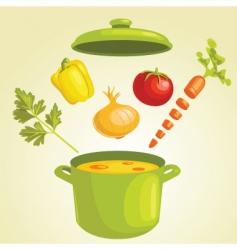 stew vector image
