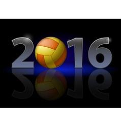 Voleytball 2016 z Voleytball 2014 01 vector image vector image