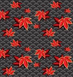 Japanese pattern vector image