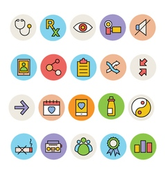 Basic Colored Icons 7 vector