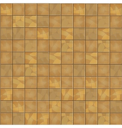 Brown floor tiles seamless background vector