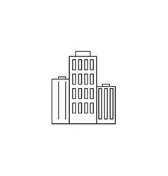buildings icon vector image