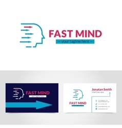 Business Card Logo Design Template Printable vector