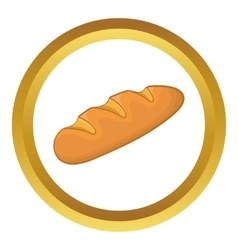 Loaf icon vector