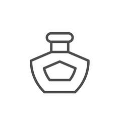 perfume line icon vector image