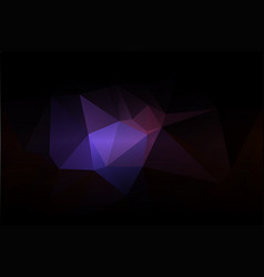 Purple brown black low poly background vector