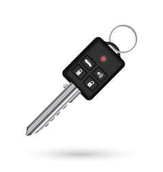 real remote car vehicle key vector image