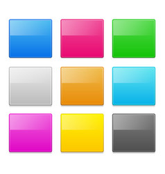 square design elements vector image