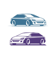 Car logo transport automobile symbol vector