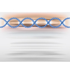 dna abstract vector image