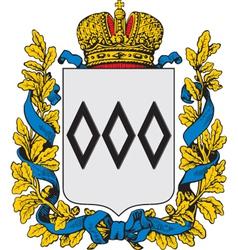 Petrokov coat-of-arms vector