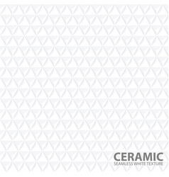 White geometric background - seamless vector