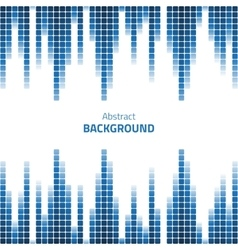 Abstract pixels background vector