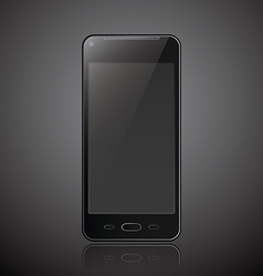 New realistic mobile phone smartphone modern style vector image