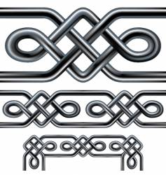 Celtic rope vector image vector image