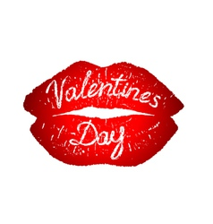 festive valentines day vector image vector image