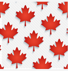 red maple leaves wallpaper vector image vector image