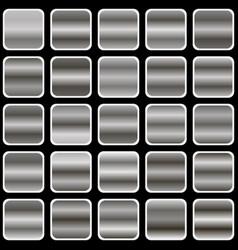 silver gradient vector image vector image