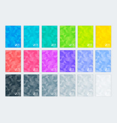 a set of templates vertical covers a4 vector image