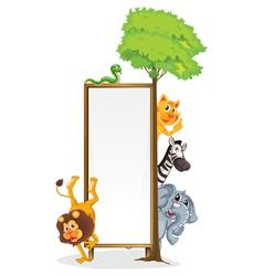 Animal frame vector