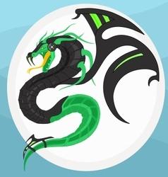 Cyber Dragon vector image
