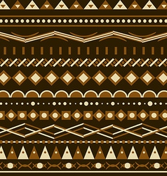 Geometry pattern triangle seamless ornament vector