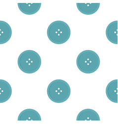 Light blue sewing button pattern flat vector