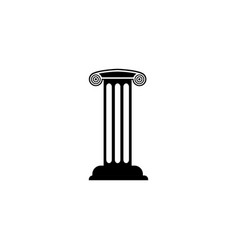 pillar graphic design template isolated vector image