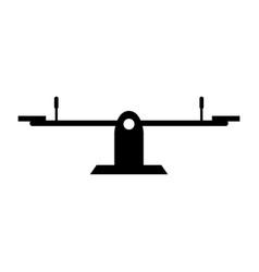 playground icon vector image
