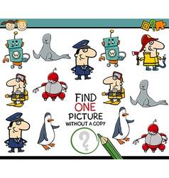 Preschool educational task vector