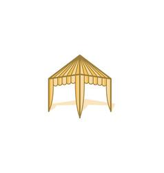 tent sale promotion logo design inspiration vector image