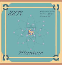 Titanium colorful icon vector