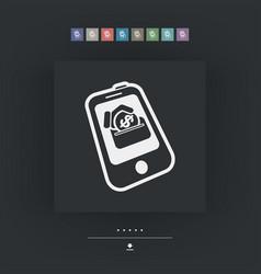 web coin vector image