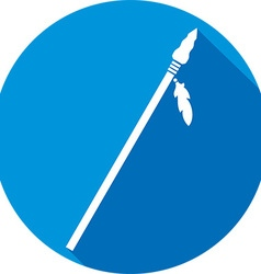 Spear Icon vector image