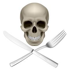 Unhealthy diet vector image