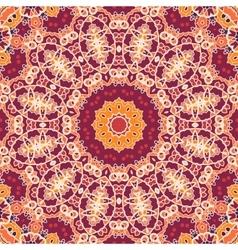 Mandala Tile Seamless Ornamental Symmetry Pattern vector image vector image
