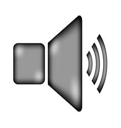 speaker volume icon sign vector image vector image