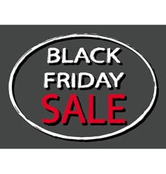 Black Friday Sale sign stamp style vector
