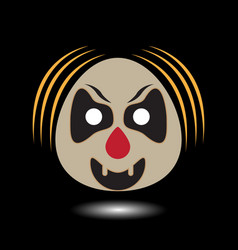 Clown symbol image vector