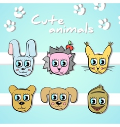CuteAnimals vector image