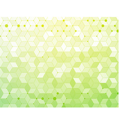 green medical background vector image
