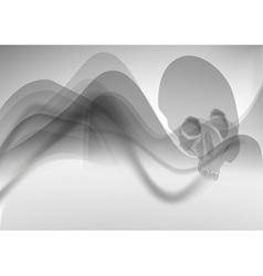 grey death vector image