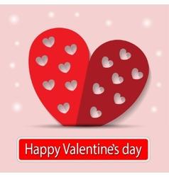 Heart Paper vector image