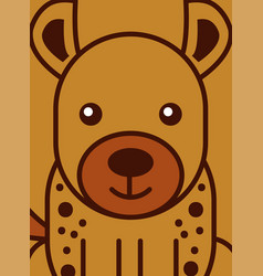 Safari animals cartoon vector